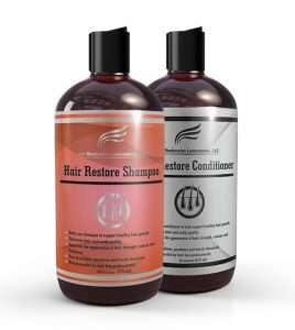 Hair Restore Shampoo and Conditioner Set by Hair Restoration Laboratories